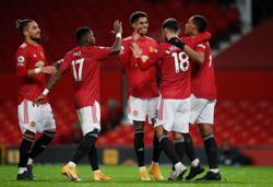 United thrash Leeds 6-2 to move up to third