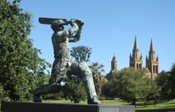 Bradman's 'baggy green' sold for A$450,000