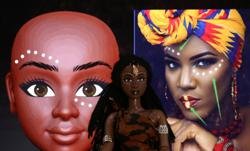 Ivory Coast company brings Black dolls to African children