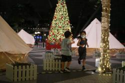 Singapore's happy 'glampers' pick airport stays for year-end holidays