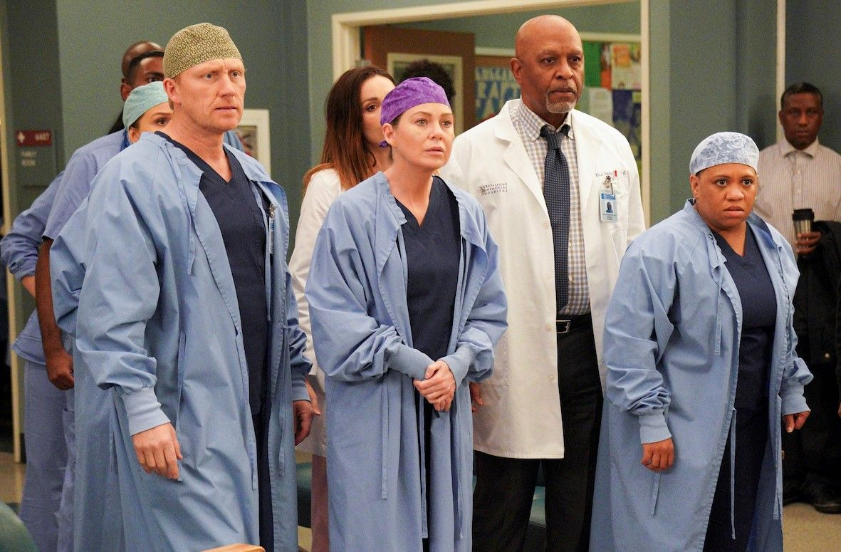 The doctors and nurses at Grey Sloan Memorial Hospital Grey's Anatomy have been tackling coronavirus.