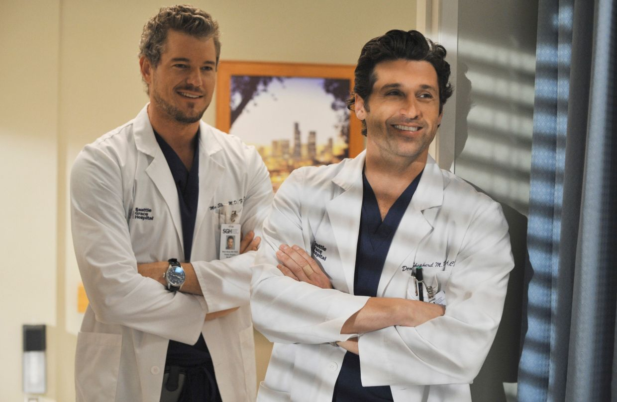 Will fans be able to see McSteamy (Eric Dane, left) as well this season?