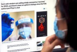 Fake vaccine vendors prowl dark web for gullible victims