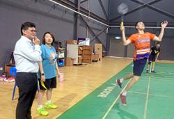 Eei Hui holds court as player and coach