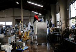 Kitchen equipment piles up as pandemic shutters Japan's restaurants