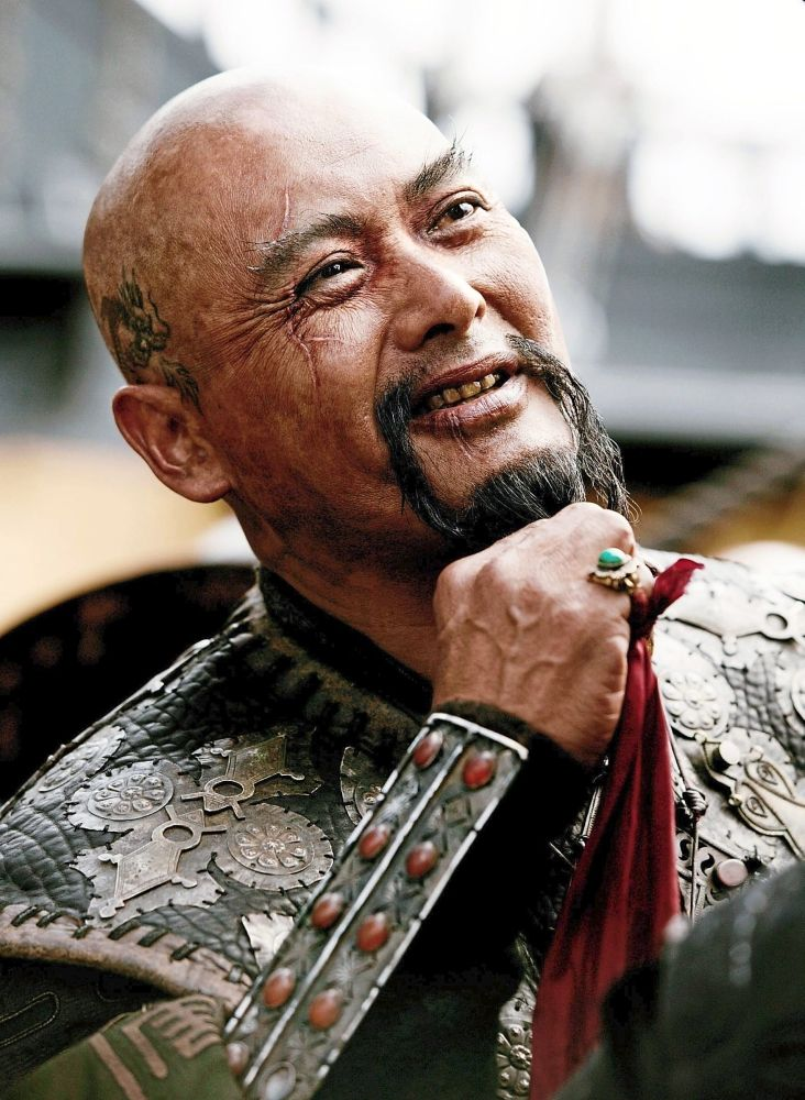 Iconic role: Chow as Sao Feng in 'Pirates Of The Caribbean: At World's End'.