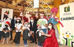 Mall brings cheer to underprivileged children