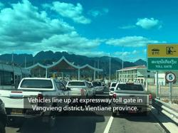 Laos sets rates for travel on Vientiane-Vangvieng expressway