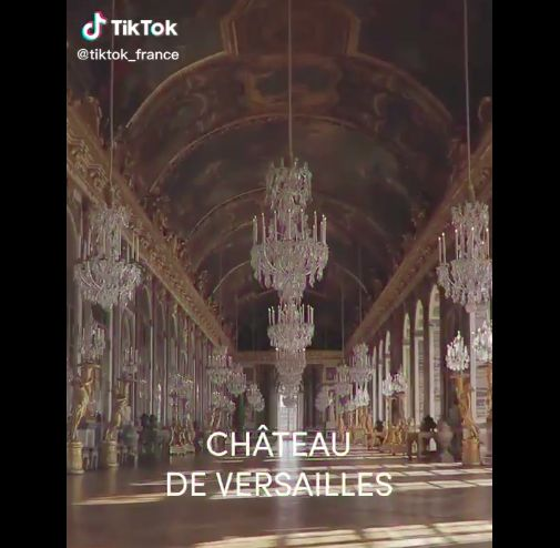 'Getting on TikTok lets us offer a creative platform to our visitors, ' says Garnier, the Palace of Versailles' community manager. Photo: Handout