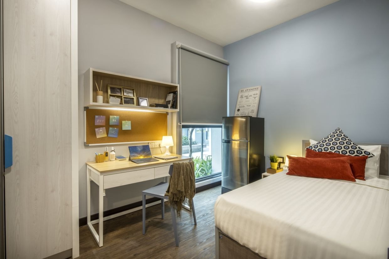 The Semi-Private Standard room offers a comfortable living environment.