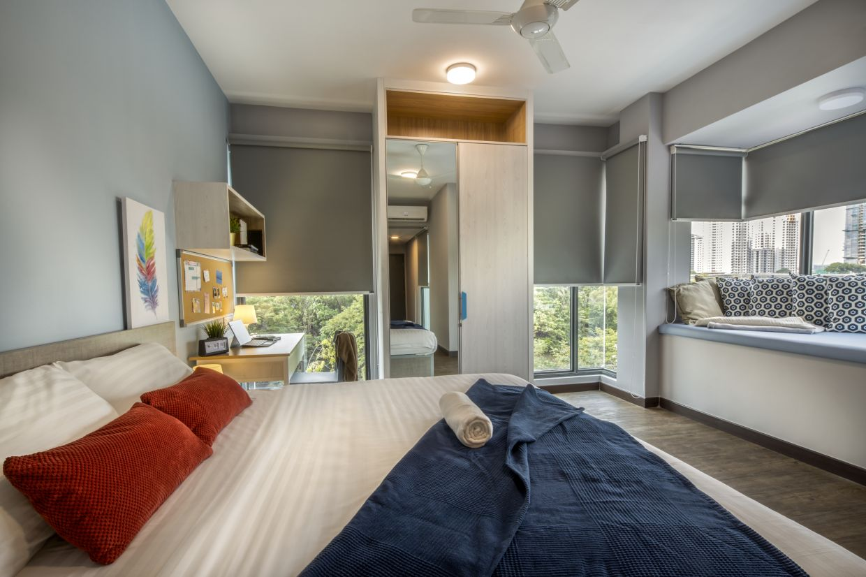 The Exclusive Studio offers a more luxurious accommodation.