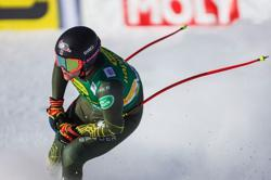 Alpine skiing-American Cochran-Siegle takes first World Cup win in Bormio