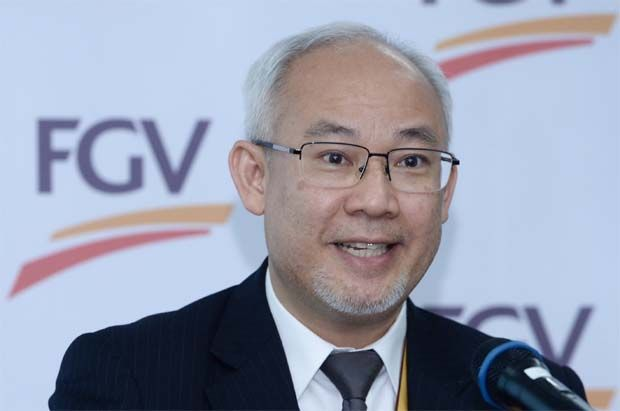 """""""Our fresh milk production in Linggi will see the opening of a brand new fresh milk factory with a processing capacity of 30,000 litres per day,\"""" said FGV group chief executive officer Datuk Haris Fadzilah Hassan."""