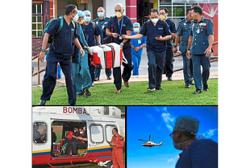 Fire Dept helps fly donors' organs by copter