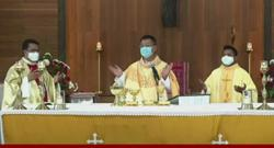 Two new Catholic priests ordained in Miri today (Dec 30)