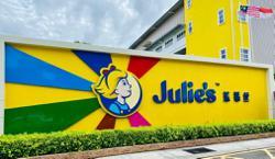 Julie's undergoing dynamic rebranding campaign