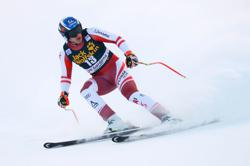 Alpine skiing-Double Olympic champion Mayer wins Bormio downhill