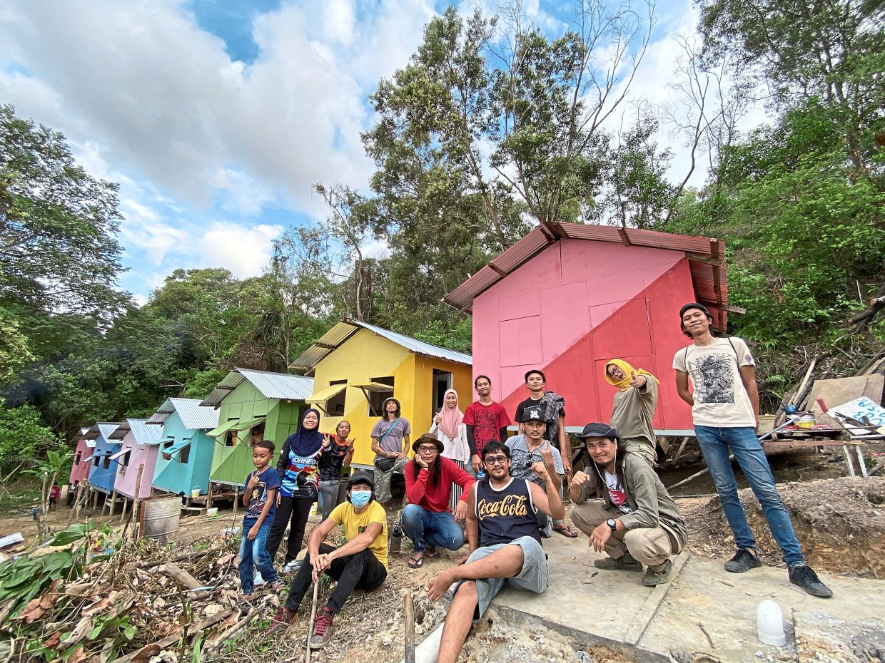 Sabah-based Pangrok Sulap postponed its 10th anniversary celebration this year. Instead the arts collective, alongside other outreach groups, concentrated on helping Sabahan communities hit hard by the pandemic. Photo: Pangrok Sulap