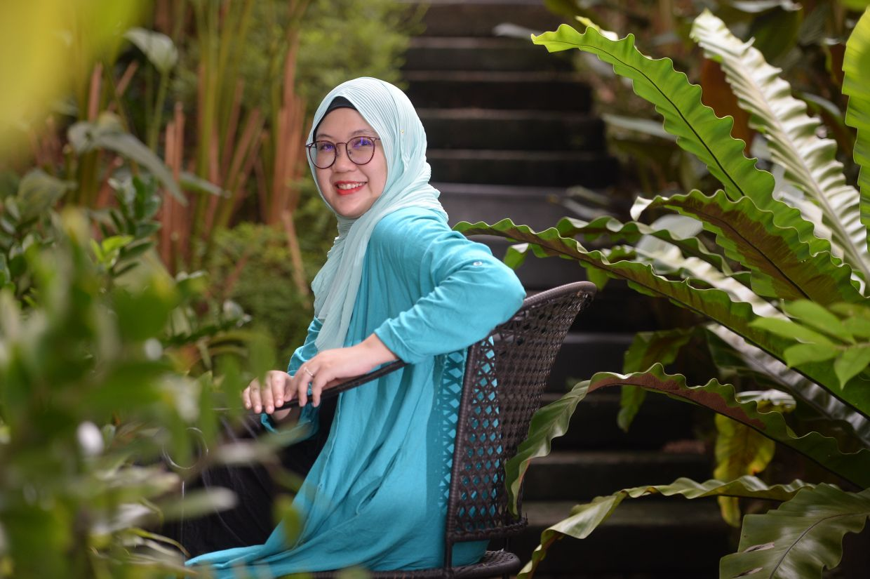 Author Hanna Alkaf went beyond the literary scene with her inspiring role in mobilising the #kitajagakita community initiative. Photo: The Star/Ong Soon Hin