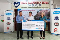 Company donates RM2.5mil to orphanage building fund