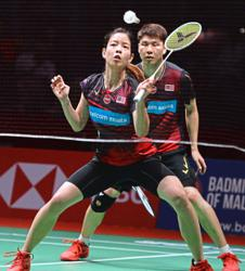 Chinese pullout the perfect boost for Goh and Shevon