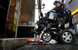 How Lego ramps for wheelchairs are helping provide access for all