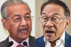 Dr M: It was Anwar who rejected me first and it isn't easy to work with him
