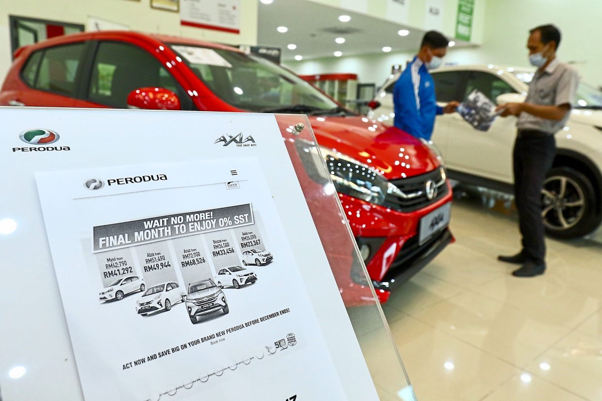 Push factor: Analysts say the extended vehicle sales tax exemption will help sustain the automotive sector's profitability in 2021.