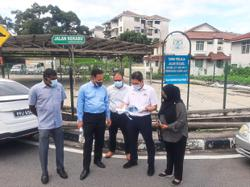 Two new centres for hawkers