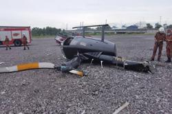 Cops: Pilot was trying to do hovering manoeuvre when chopper crashed