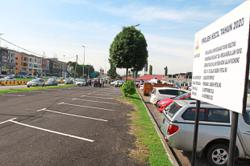 New parking lot for convenience of visitors to clinic
