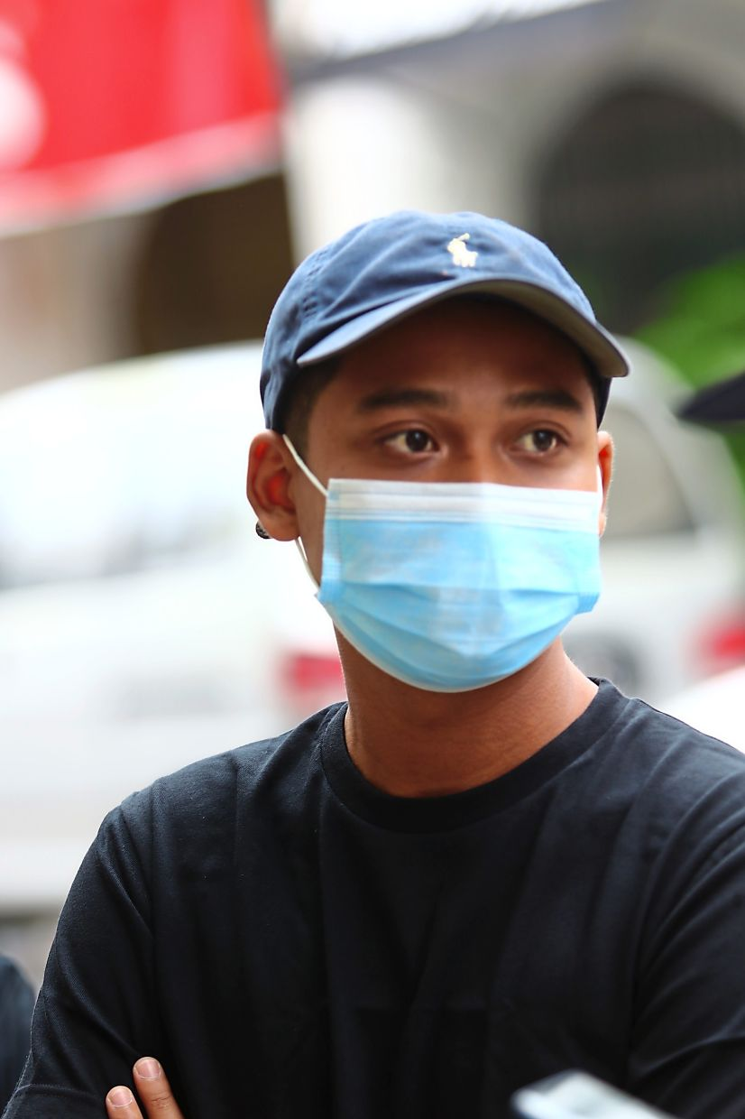 Aidil says the SOPs set by the restaurant ensures that the customers are safe.