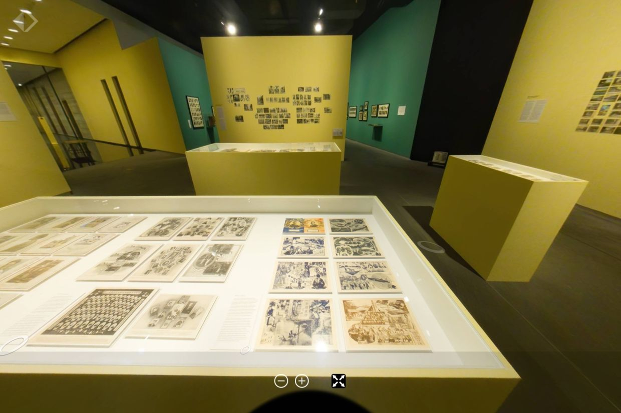 A look at Ilham Gallery's interactive 360 virtual tour of  'Bayangnya Itu Timbul Tenggelam - Photographic Cultures In Malaysia' exhibition. The gallery is now open to public. Photo: Ilham Gallery