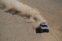 Peterhansel retains Dakar lead as Al-Attiyah closes gap