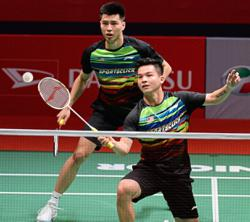 Ong and Teo wary despite top pairs' pullout from draw