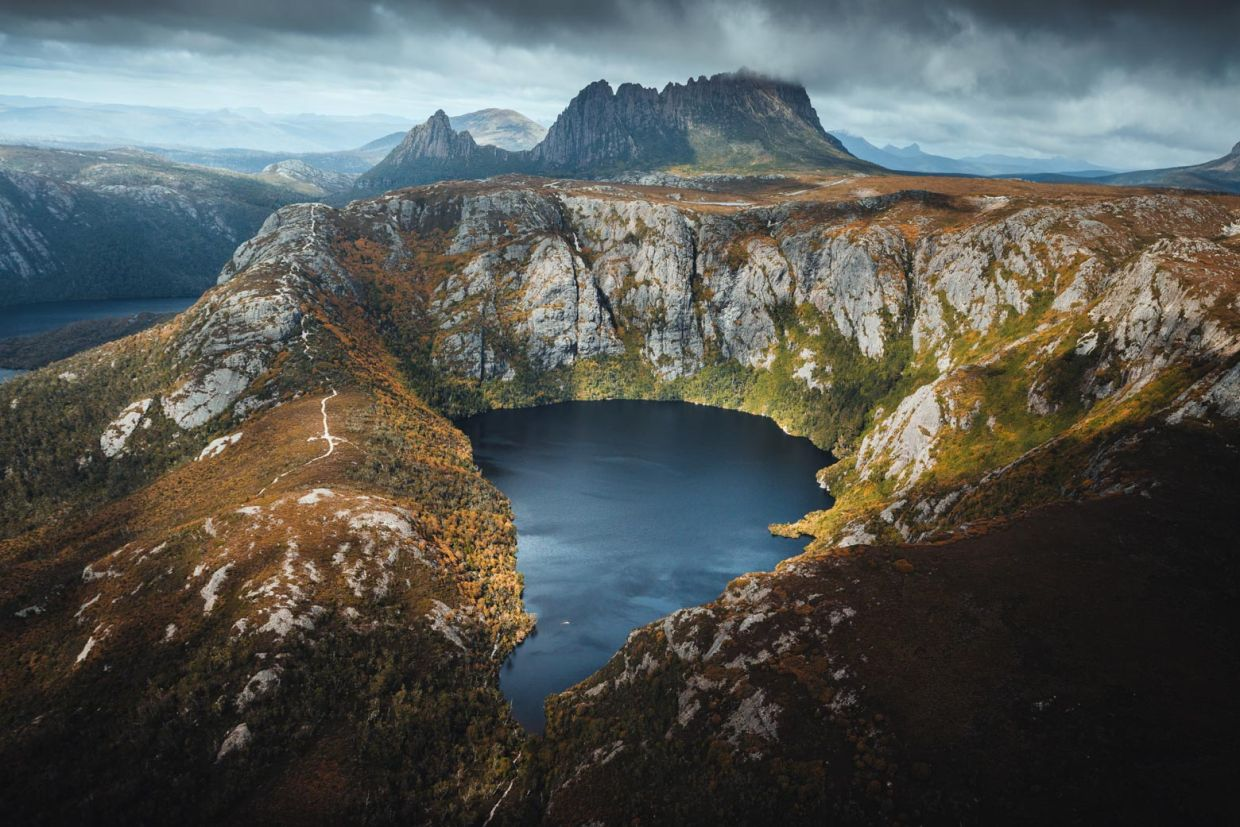 Be surrounded by beautiful nature at Cradle Mountain National Park. - Unique Charters