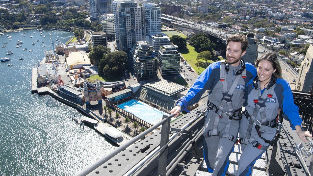 Sign up for the Ultimate Climb by BridgeClimb Sydney that will bring you to new heights. - BridgeClimb
