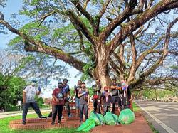 Taiping council launches third 'plogging' programme