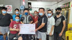 Big sum raised in three days for cancer patient