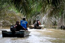 Boats a lifeline for Orang Asli during monsoon