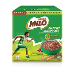 Start your day with Milo Nutri Breakfast