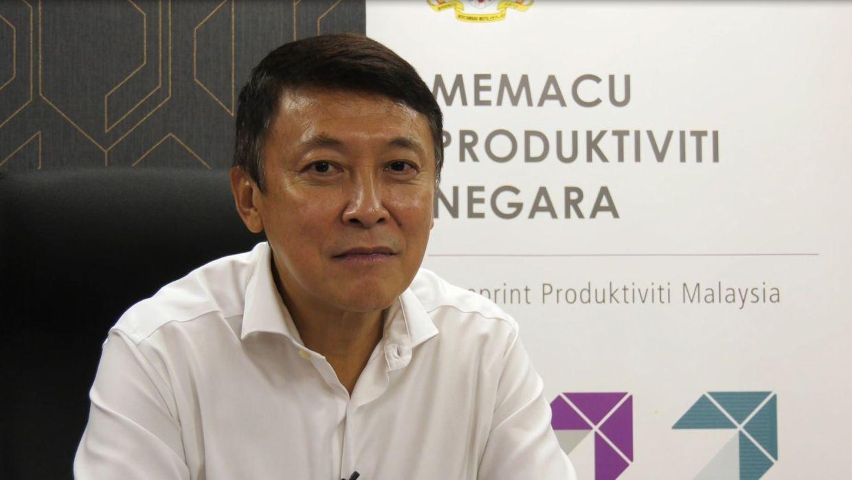 Digital Productivity Nexus Champion Dato' Wei Chuan Beng.
