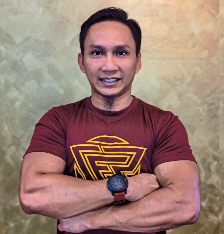 Azhan feels that the current SOP in gyms and fitness centres is sufficient for a safe workout.