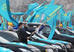 Kazakh ruling party set to retain hold on power in Sunday's vote