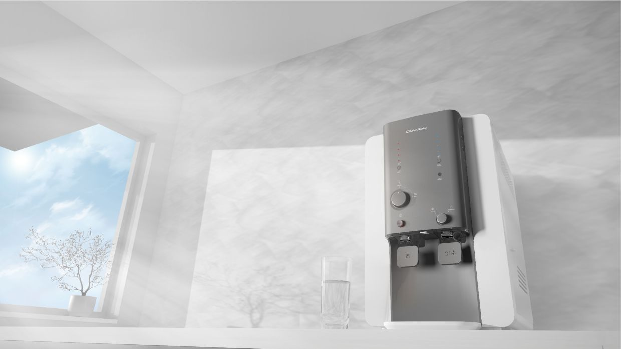 Malaysians' favourite water purifier Villaem II can dispense four water temperatures.