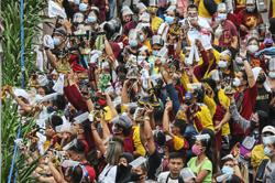 Watch out for symptoms, DOH tells Quiapo crowd