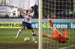 Vinicius hits hat-trick as Spurs end lowly Marine's FA Cup run