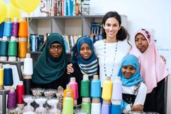 Raising funds to pay for refugees' pre-university test