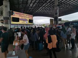 Bus terminals, supermarkets filled to the brim before MCO begins