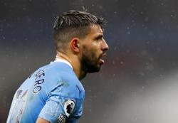 City's Aguero out for up to 10 days due to quarantine, says Guardiola